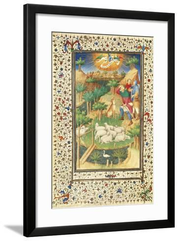 The Announcement to the Shepherds--Framed Art Print