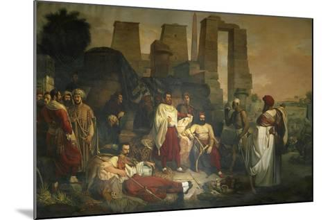 The Franco-Tuscan Archaeological Expedition to Egypt--Mounted Giclee Print
