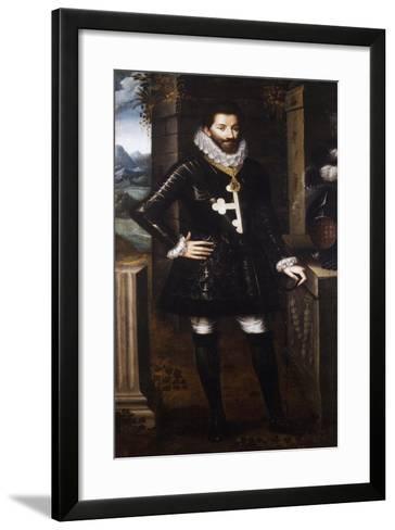 Portrait of Charles Emmanuel I, Duke of Savoy, known as Great--Framed Art Print