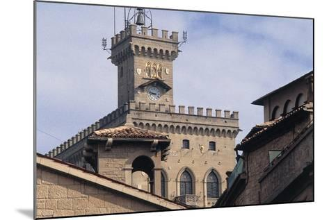Government Building Tower or Palazzo Pubblico Tower--Mounted Giclee Print