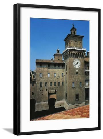 The Main Tower, Castle Estense or Castle of St Michael--Framed Art Print