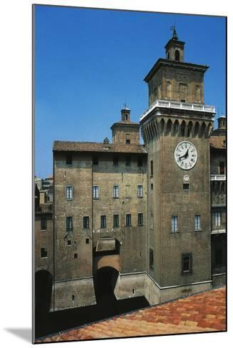 The Main Tower, Castle Estense or Castle of St Michael--Mounted Giclee Print