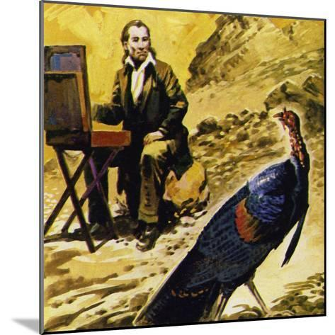 Audubon Devoted His Life to Painting the Birds of America--Mounted Giclee Print