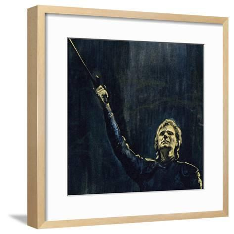 Wagner's Parsifal Was the Story of a Knight of the Holy Grail--Framed Art Print