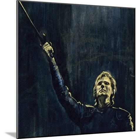 Wagner's Parsifal Was the Story of a Knight of the Holy Grail--Mounted Giclee Print