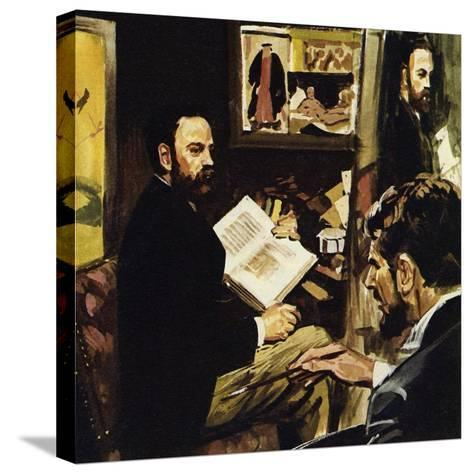 Emile Zola Predicted That Manet's Work Would Hang in the Louvre-Luis Arcas Brauner-Stretched Canvas Print