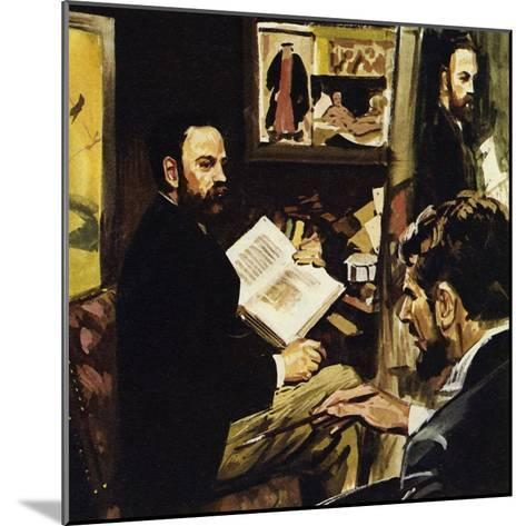 Emile Zola Predicted That Manet's Work Would Hang in the Louvre-Luis Arcas Brauner-Mounted Giclee Print