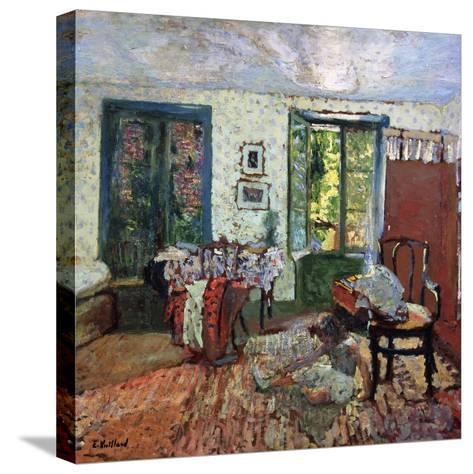 Annette in an Interior; Annette Dans Un Interieur, C.1903-Edouard Vuillard-Stretched Canvas Print