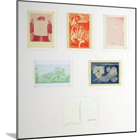 Post Cards Published by the English Surrealist Group--Mounted Giclee Print