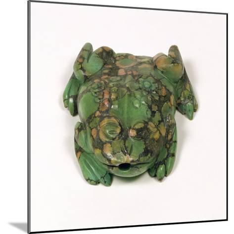 H3931 Turquoise Frog Shaped Snuff Bottle, Qing Dynasty--Mounted Giclee Print