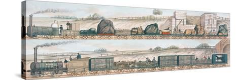 Liverpool and Manchester Railway: Freight and Livestock--Stretched Canvas Print