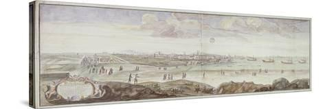 View from the Side of the Infirmary, Marseille, 1698--Stretched Canvas Print