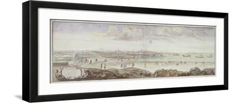 View from the Side of the Infirmary, Marseille, 1698--Framed Art Print