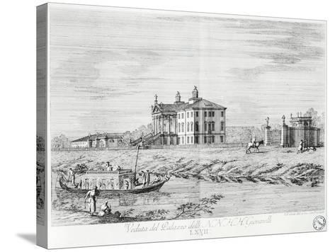 Villa Giovanelli at Noventa Padovana-Gianfranco Costa-Stretched Canvas Print