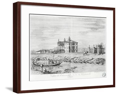 Villa Giovanelli at Noventa Padovana-Gianfranco Costa-Framed Art Print