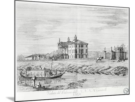 Villa Giovanelli at Noventa Padovana-Gianfranco Costa-Mounted Giclee Print