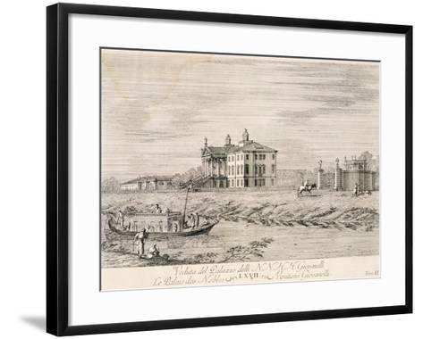 Villa Giovanelli at Noventa Padua-Gianfranco Costa-Framed Art Print
