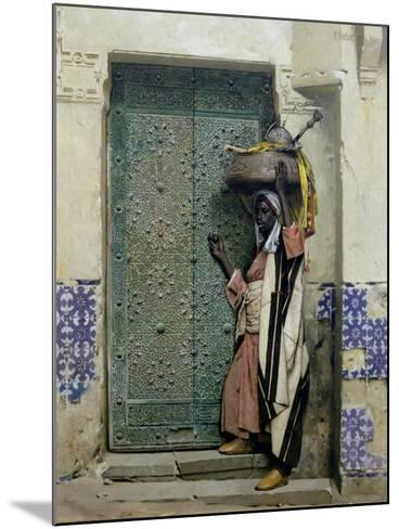 An Eastern Doorway: at the Moslem Chief's Door, 1887-Raphael Von Ambros-Mounted Giclee Print