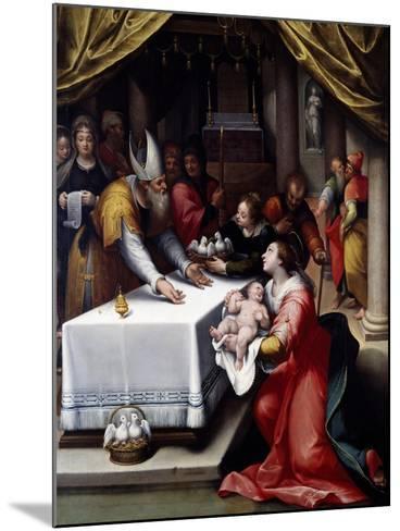 Presentation of Jesus in the Temple-Denis Calvaert-Mounted Giclee Print
