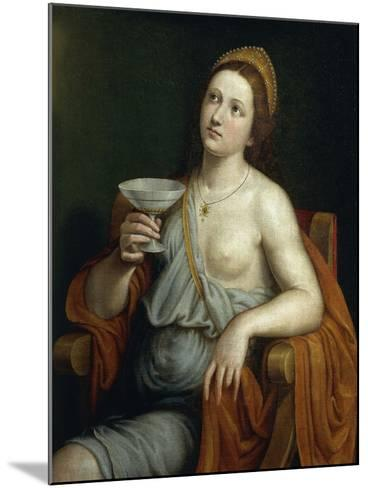 Sophonisba Drinking Poison-Giovanni Francesco Caroto-Mounted Giclee Print