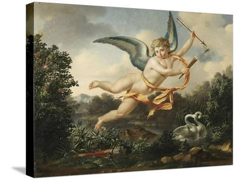 Allegories of Love - Cupid with a Torch and Arrow, 1803-Leon Bakst-Stretched Canvas Print