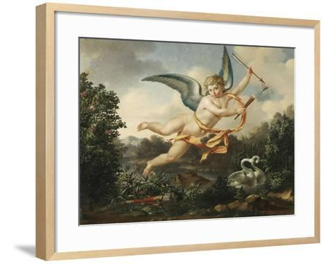 Allegories of Love - Cupid with a Torch and Arrow, 1803-Leon Bakst-Framed Art Print