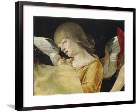 Pieta or Dead Christ Supported by Angels, Ca 1474-Giovanni Bellini-Framed Art Print