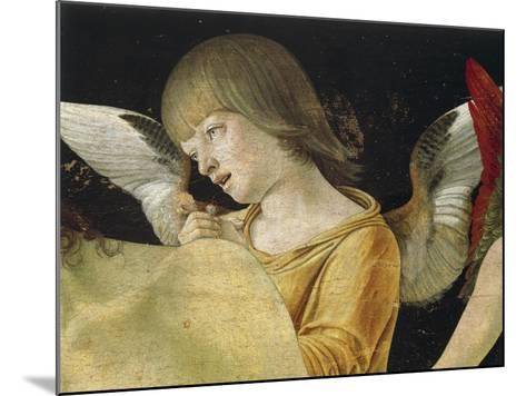 Pieta or Dead Christ Supported by Angels, Ca 1474-Giovanni Bellini-Mounted Giclee Print