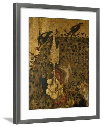 Madonna of the Rose Garden, 1420-1435-Stefano  da Verona-Framed Art Print