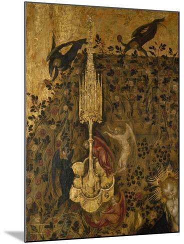 Madonna of the Rose Garden, 1420-1435-Stefano  da Verona-Mounted Giclee Print