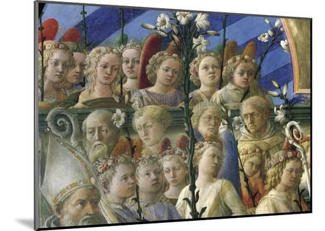 Incoronazione Maringhi or Coronation of Virgin-Filippo Lippi-Mounted Giclee Print