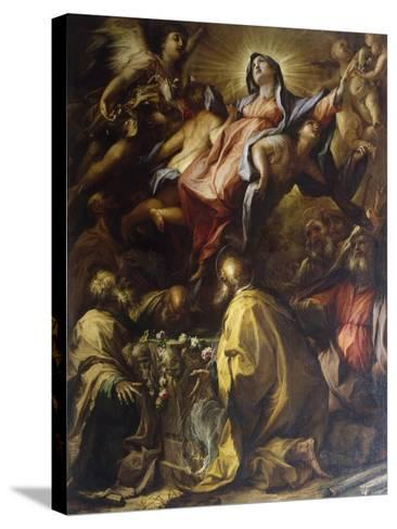 Assumption of the Virgin, 1697-Alessandro Gherardini-Stretched Canvas Print