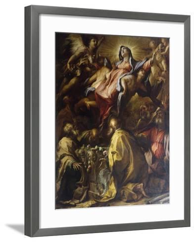 Assumption of the Virgin, 1697-Alessandro Gherardini-Framed Art Print