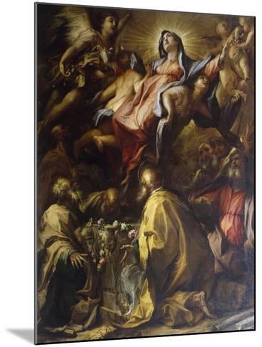 Assumption of the Virgin, 1697-Alessandro Gherardini-Mounted Giclee Print