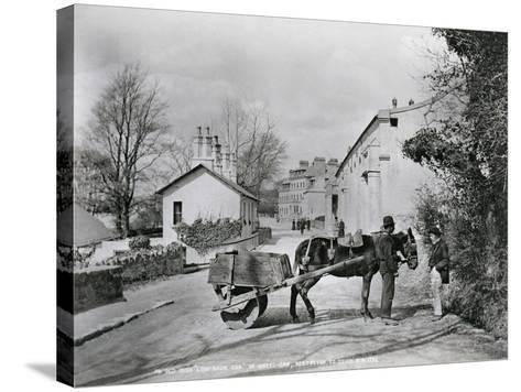 Street Scene in Rostrevor, County Down, Ireland, C.1895-Robert John Welch-Stretched Canvas Print
