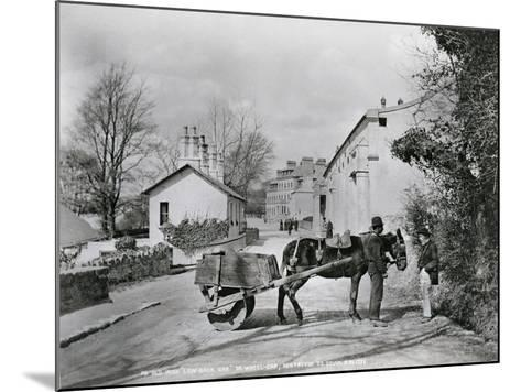 Street Scene in Rostrevor, County Down, Ireland, C.1895-Robert John Welch-Mounted Giclee Print