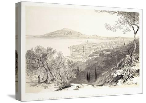 View from the Castle Hill, Looking Towards Monte Skopo, Zante, 1863-Edward Lear-Stretched Canvas Print