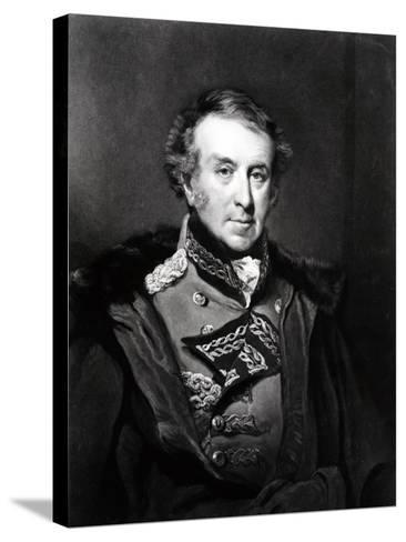 General Sir Hew Whitefoord Dalrymple, 1st Baronet-John Jackson-Stretched Canvas Print
