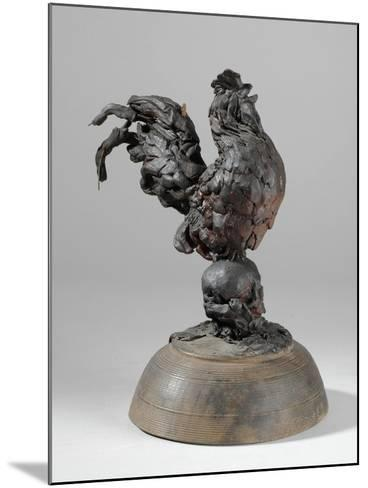 One of 9 Maquettes for the Sam Wilson Chimneypiece, C.1908-14-Alfred Gilbert-Mounted Giclee Print