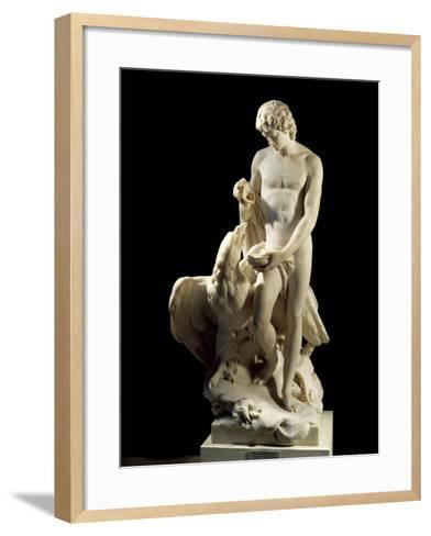 Ganymede and Eagle of Jupiter, 1772-Pierre Julien-Framed Art Print