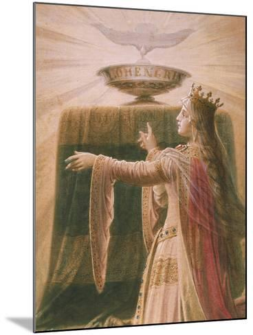 The Miracle of the Grail, from the Lohengrin Saga, Salon-Wilhelm Hauschild-Mounted Giclee Print