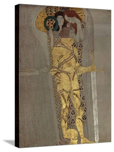 The Longing for Happiness, from the Beethoven Frieze', 1902-Gustav Klimt-Stretched Canvas Print