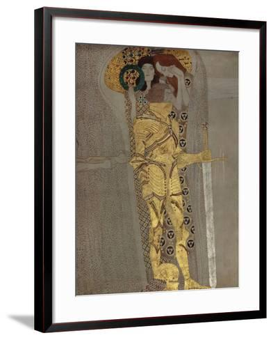 The Longing for Happiness, from the Beethoven Frieze', 1902-Gustav Klimt-Framed Art Print