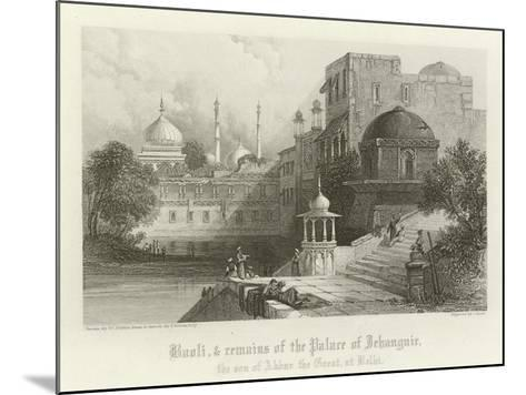 Baoli and Remains of the Palace of Jahangir, Delhi, India-Thomas Colman Dibdin-Mounted Giclee Print