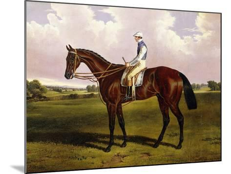 Bloomsbury, a Chestnut Racehorse with Sam Templeman Up, in a Landscape-Alfred de Prades-Mounted Giclee Print