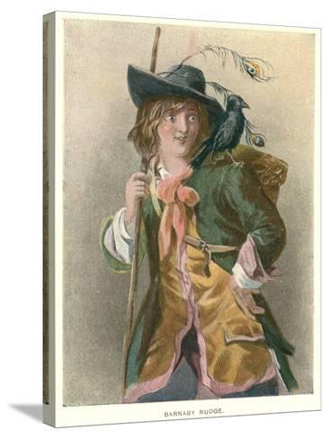 Barnaby Rudge, Illustration for 'Barnaby Rudge' by Charles Dickens-Thomas Sibson-Stretched Canvas Print
