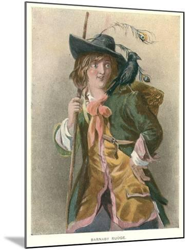 Barnaby Rudge, Illustration for 'Barnaby Rudge' by Charles Dickens-Thomas Sibson-Mounted Giclee Print