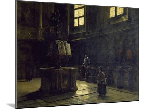 Choir of the St John's Church in Parma, 1873-Salvatore Marchesi-Mounted Giclee Print