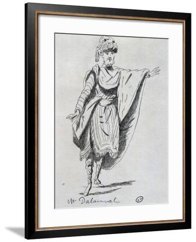 Actor Dalainval in Role of Nawab in Athalie-Jean Racine-Framed Art Print