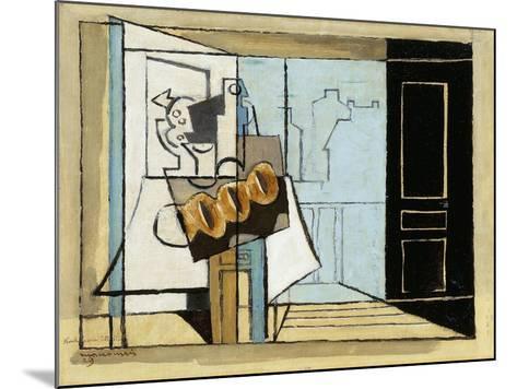 Monday, the Open Window; Lundi, La Fenetre Ouverte, 1929-Louis Marcoussis-Mounted Giclee Print